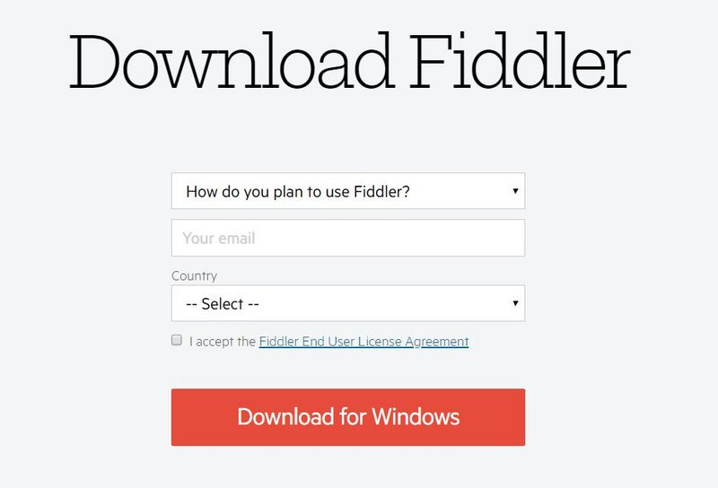 Find out about Fiddler? | Develop Paper