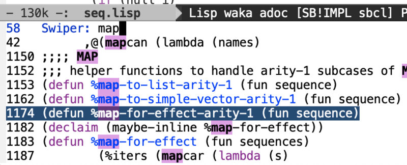 Some methods of searching text in Emacs | Develop Paper